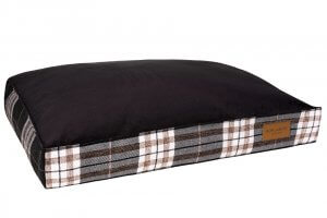 dog cushion bed scott graphite bowl and bone republic ps1sa