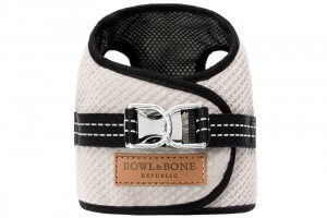 dog harness soho cream 2ed bowl and bone republic ps1sa