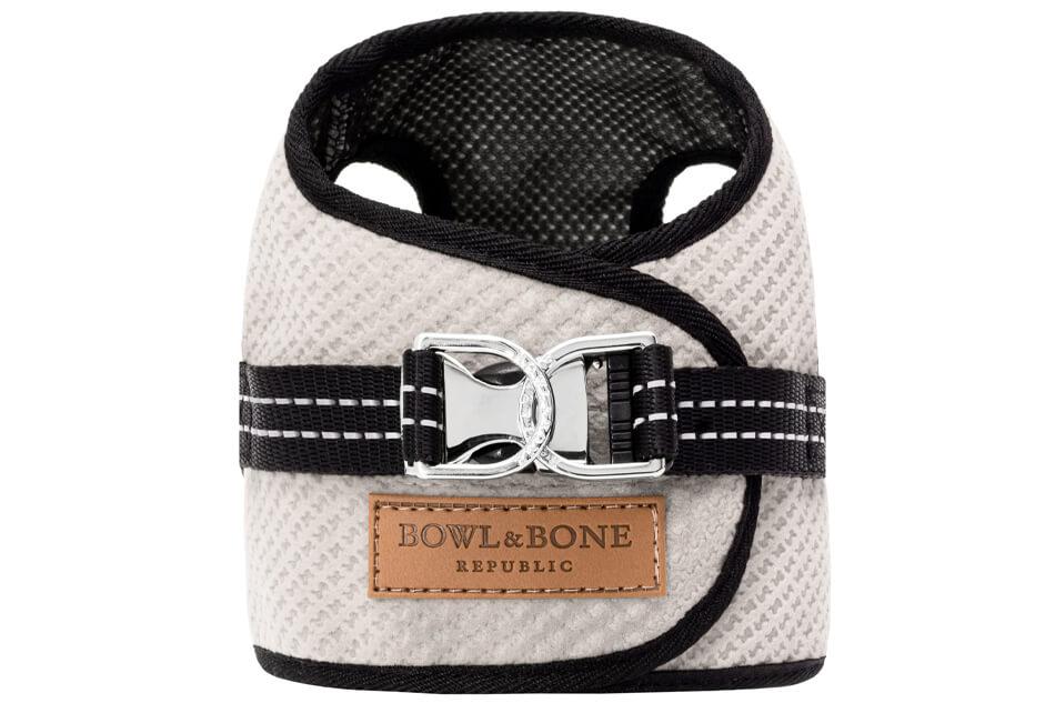 dog harness soho cream 2ed bowl and bone republic ps1sa