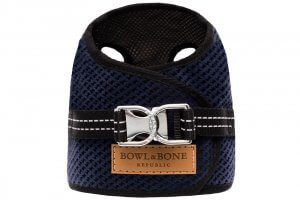dog harness soho navy 2ed bowl and bone republic ps1sa