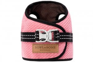 dog harness soho pink 2ed bowl and bone republic ps1sa