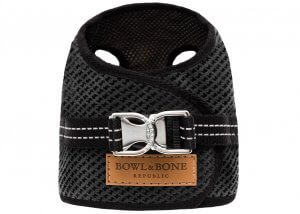 dog harness soho graphite 2ed bowl and bone republic ps1sa