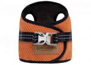 dog harness soho orange 2ed bowl and bone republic ps1sa