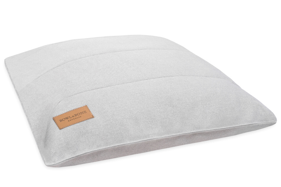 dog cushion bed urban grey bowlandbonerepublic ps1sa
