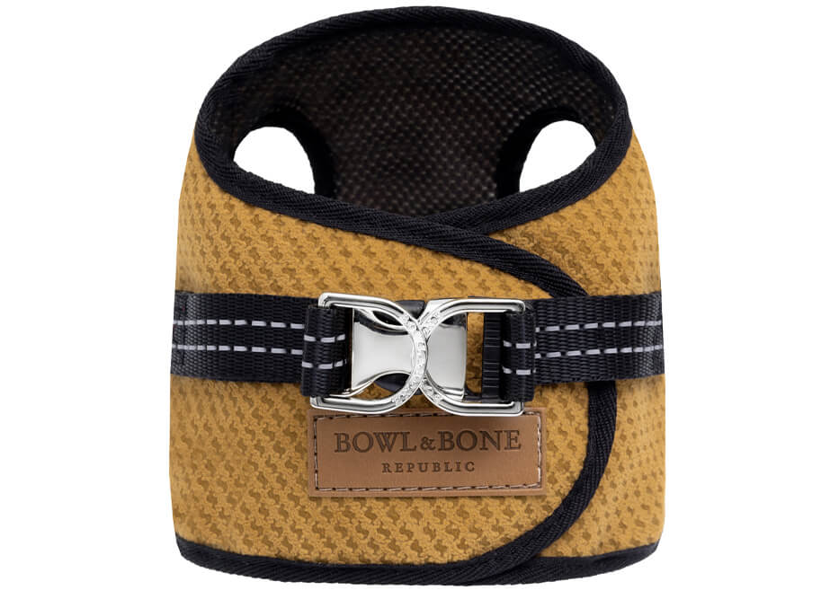 dog harness soho latte 2ed bowl and bone republic ps1sa