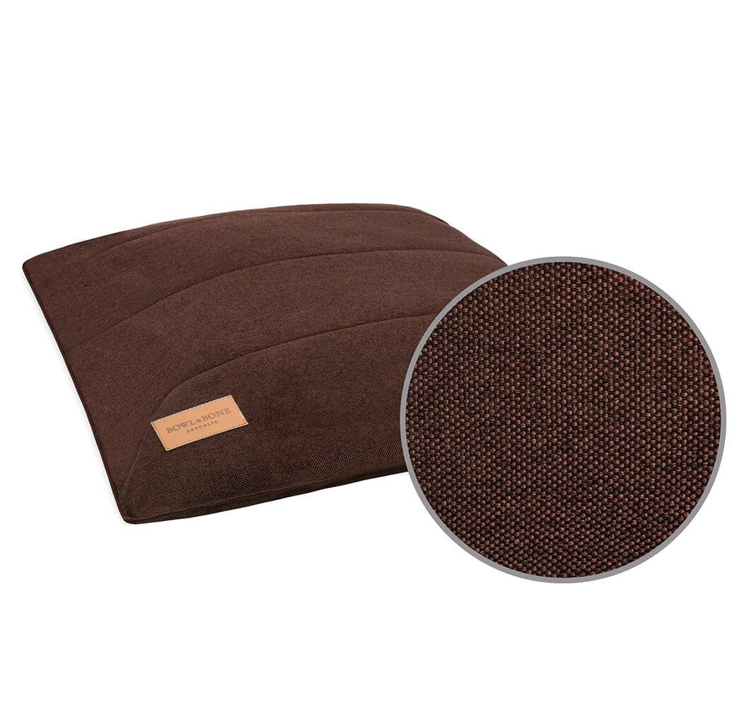 dog cushion bed urban brown bowl and bone republic magnifier