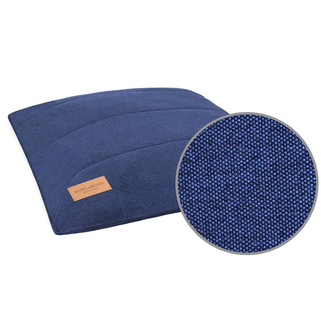 dog cushion bed urban navy bowlandbonerepublic magnifier