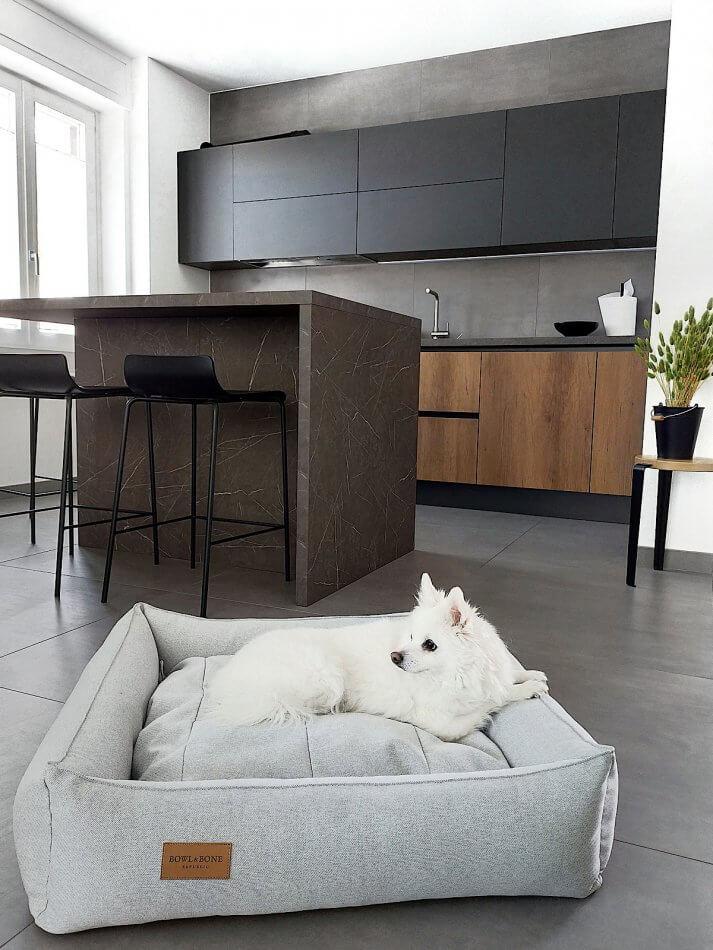 dog bed urban grey bowl and bone republic ls3sa