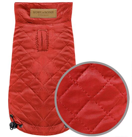 dog jacket spirit red bowlandbonerepublic magnifier