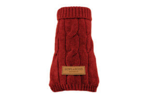 dog sweater aspen red bowlandbonerepublic ps1sa