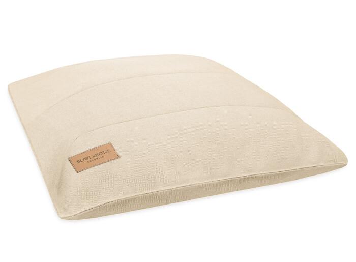dog cushion bed urban beige bowlandbonerepublic ps1sa