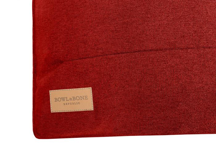dog cushion bed urban red bowlandbonerepublic ps2sa