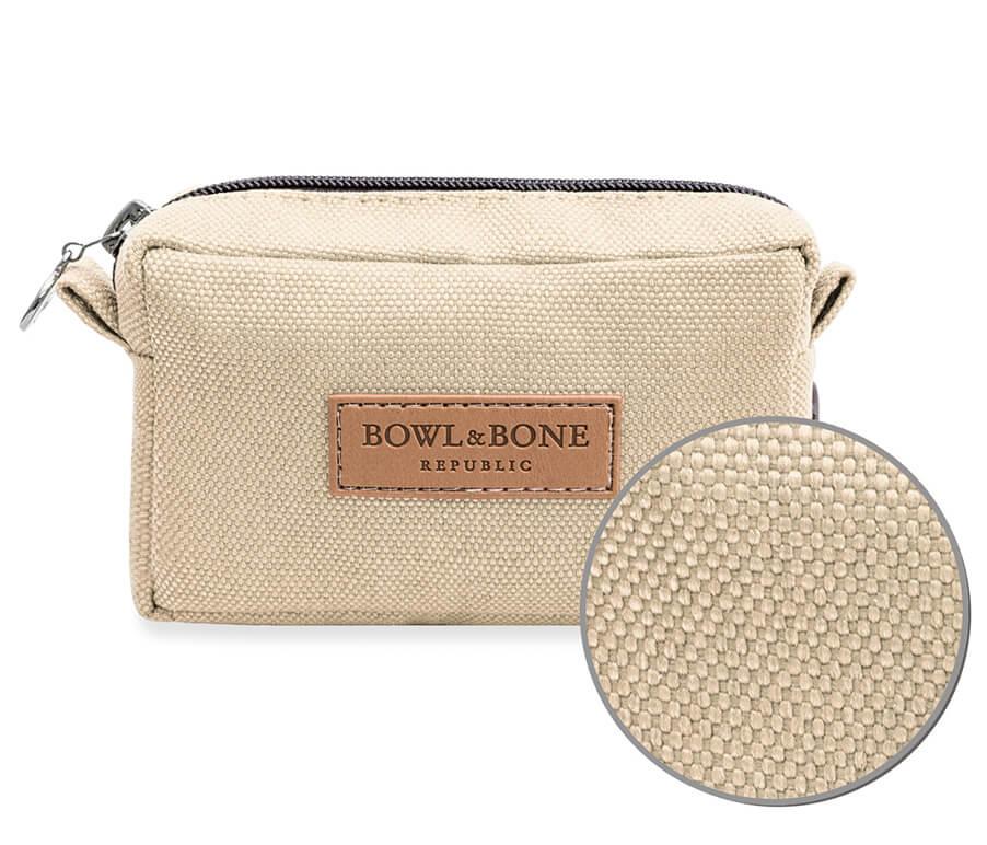 dog treat bag MIDI beige bowlandbonerepublic magnifier
