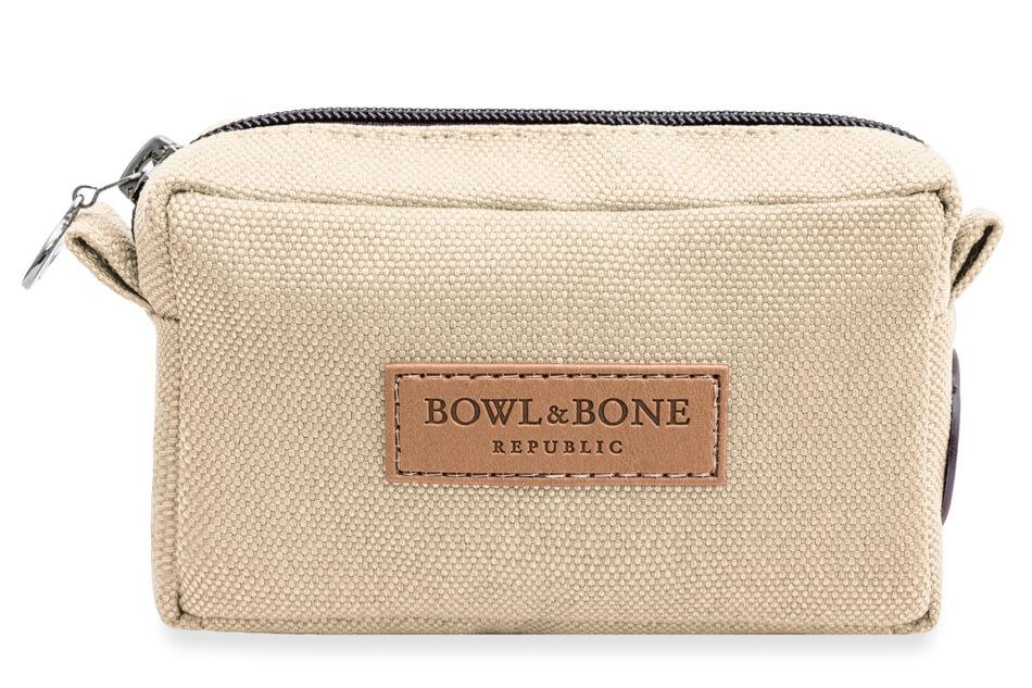 dog treat bag MIDI beige bowlandbonerepublic ps1sa