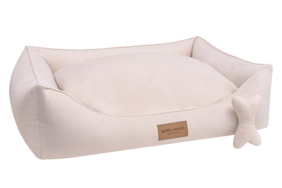 dog bed classic cream bowlandbonerepublic ps1sa
