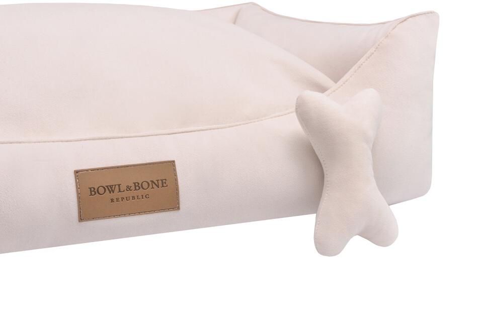 dog bed classic cream bowlandbonerepublic ps2sa