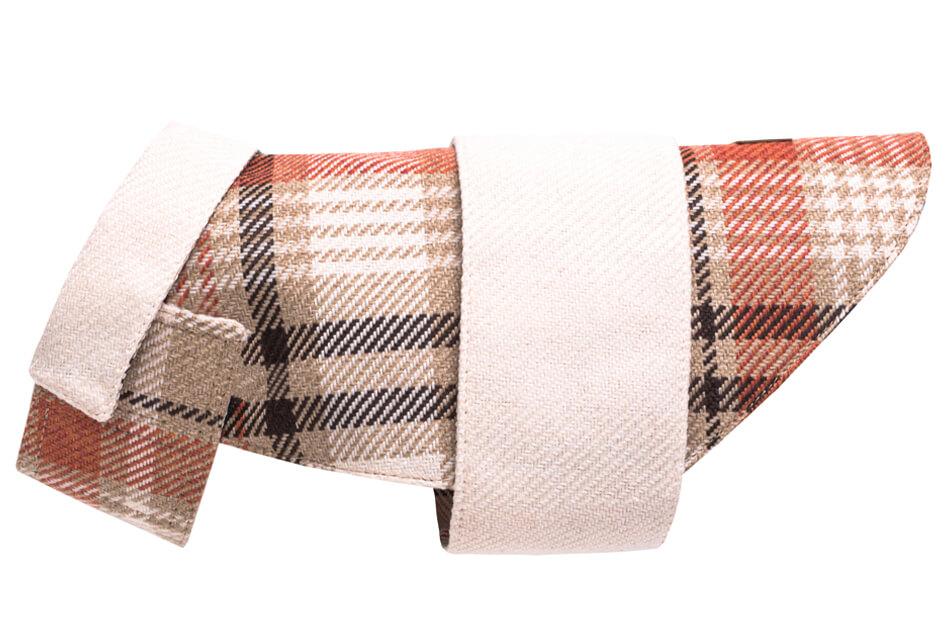 dog coat leaf orange cream bowlandbonerepublic ps2sa