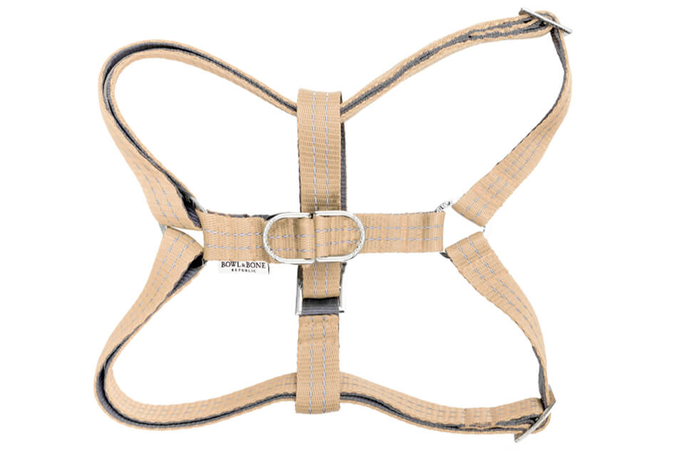 dog harness active beige bowlandbonerepublic ps1sa