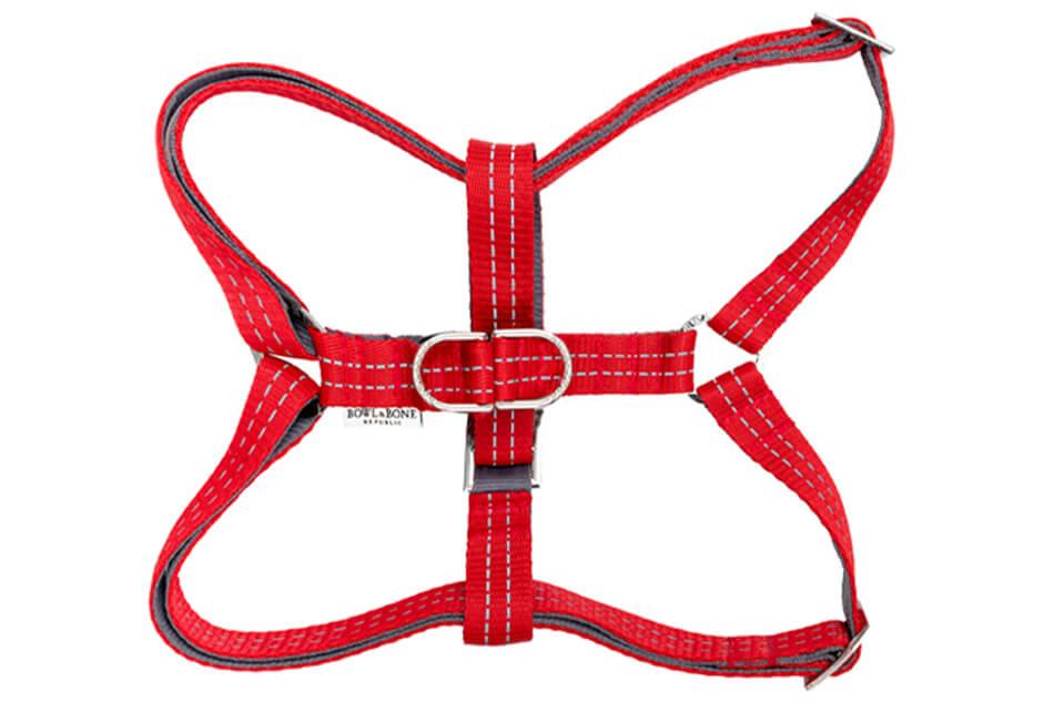 dog harness active red bowlandbonerepublic ps1sa