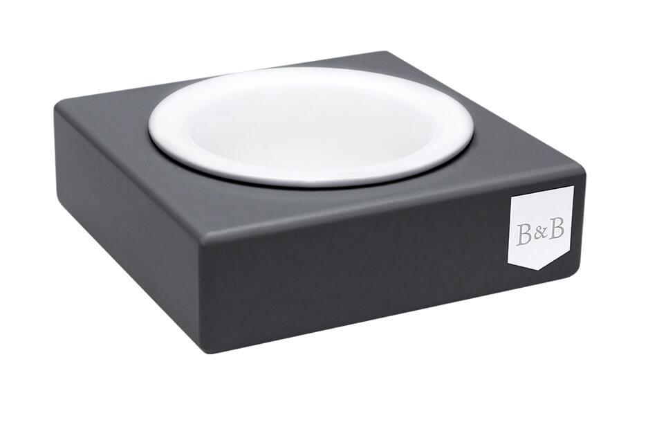 dog bowl solo ceramic graphite bowlandbonerepublic ps1sa