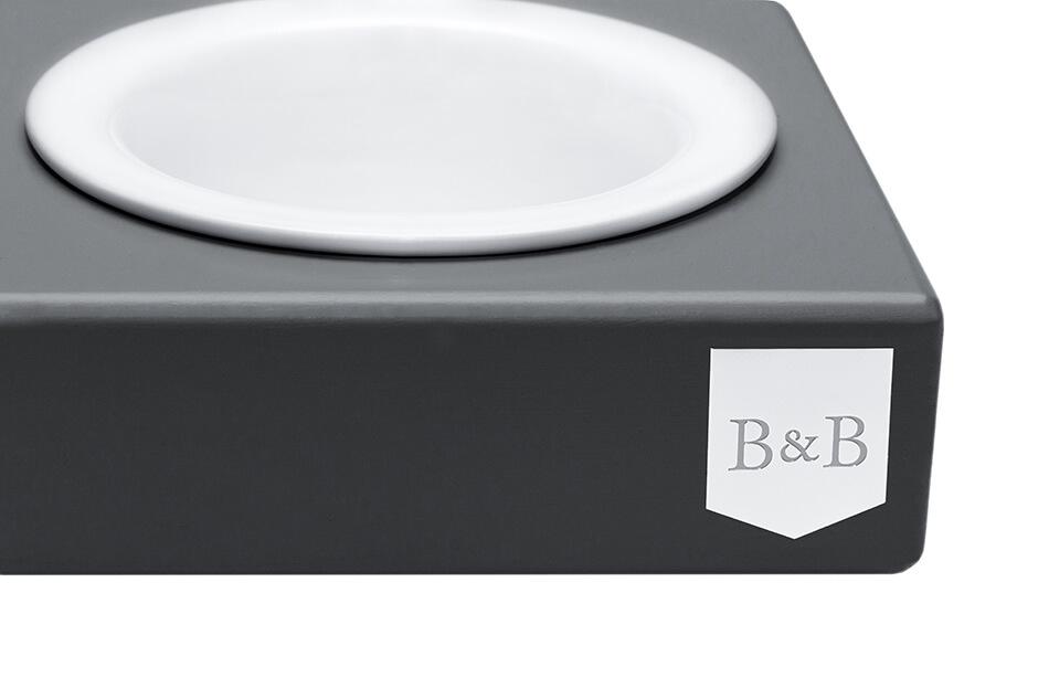 dog bowl solo ceramic graphite bowlandbonerepublic ps2sa