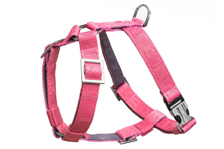 dog harness guard bloom pink bowlandbonerepublic ps1sa
